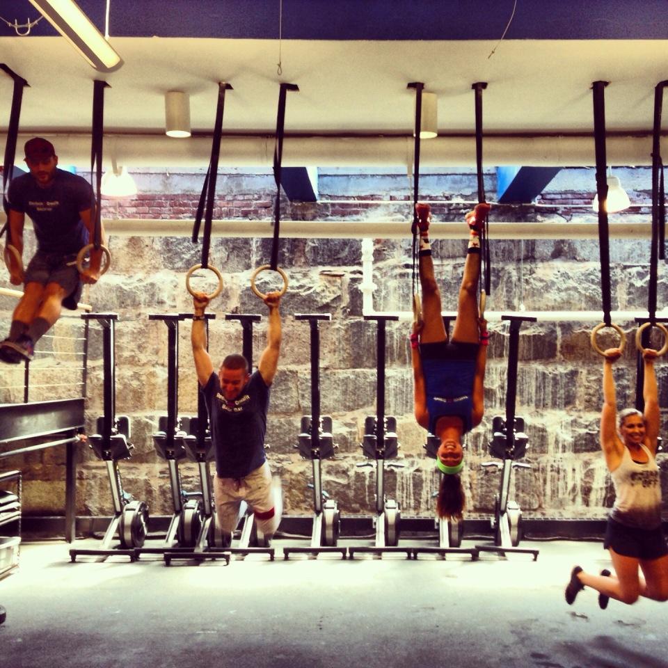 (Boston College Crew at Reebok CrossFit Backbay)